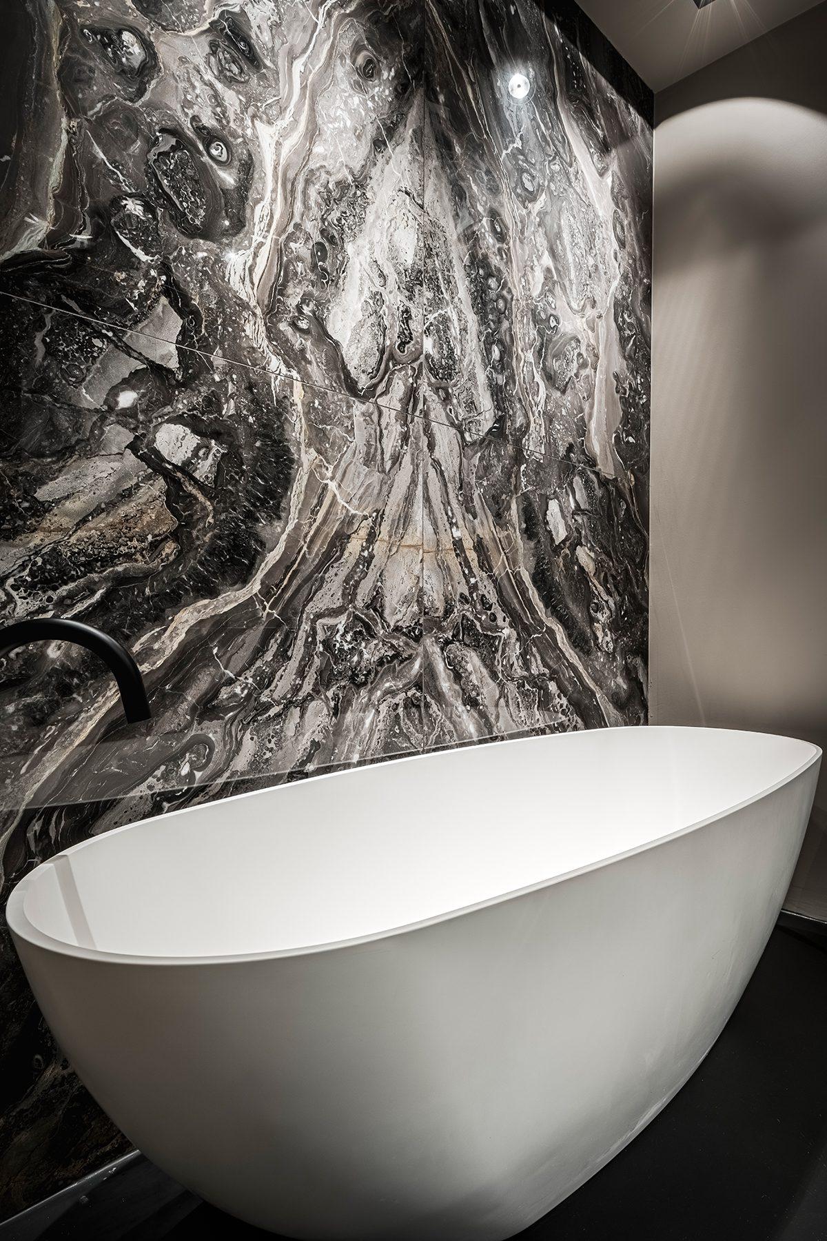 Marmer badkamer Amsterdam Zuid